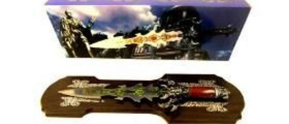 Espada decorativa Vintage gladiador