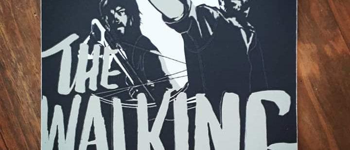 Placa - The Walking Dead 3