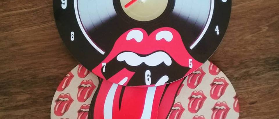Relógio Parede Pendulo Rolling Stones
