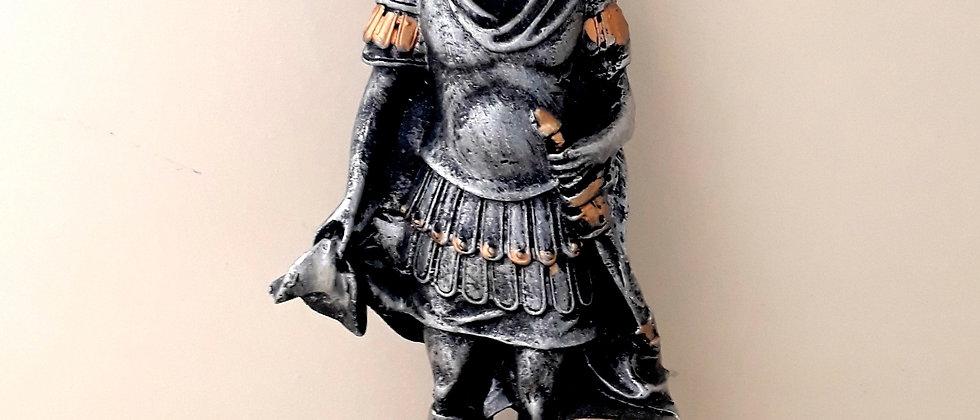 Guerreiro Romano com Lança Medieval miniatura