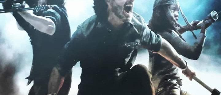 Placa The Walking Dead 7