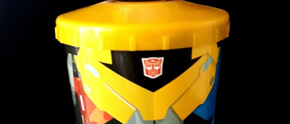 Copo Infantil transformers