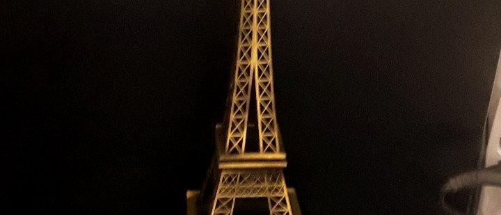 Miniatura de torre Eiffel Paris Grande 40 cm