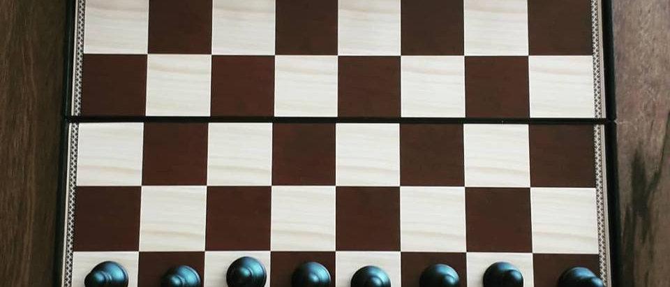 Jogo Xadrez e Dama Magnético 26 X 26