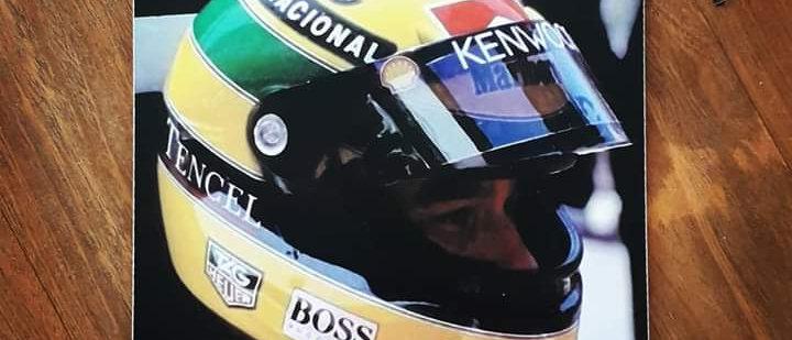 Placa Airton Senna 1
