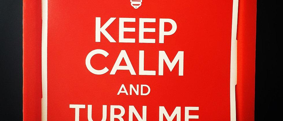 Luminária Keep Calm