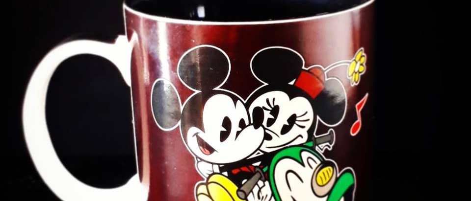 Caneca Magic Mickey e Minie