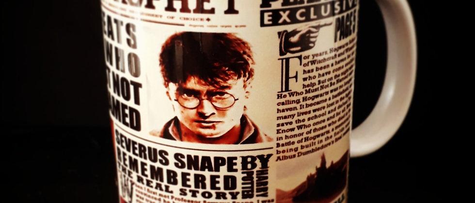 Caneca Harry Potter Jornal