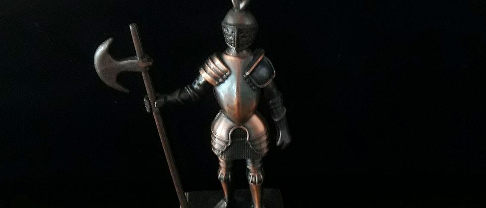 Miniatura de Guerreiro medieval