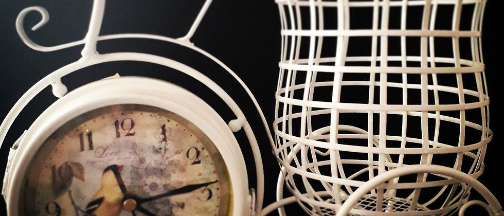 Relógio Vintage Dupla Face