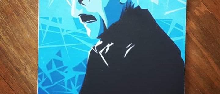Placa Heisenberg - Breaking Bad