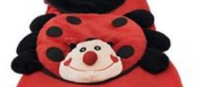 Almofada com Cobertor Joaninha