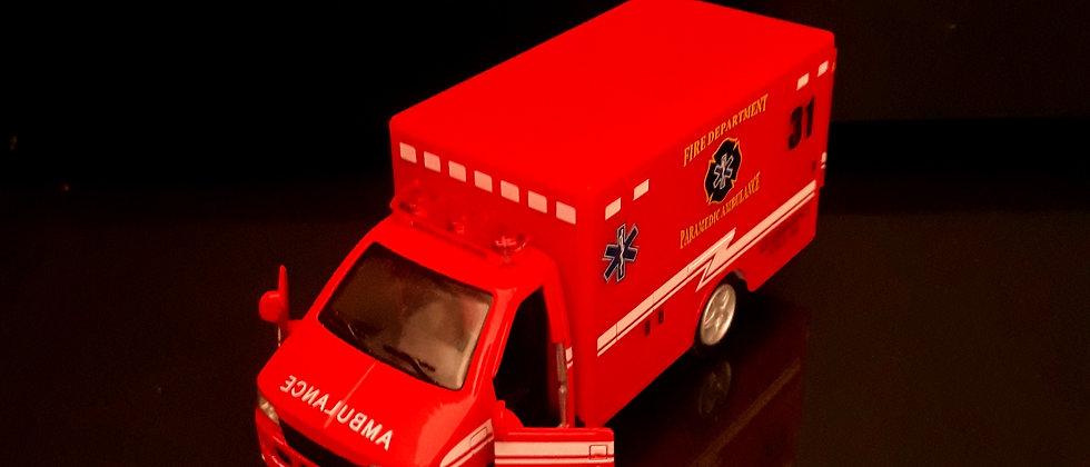 Miniatura de Ambulância