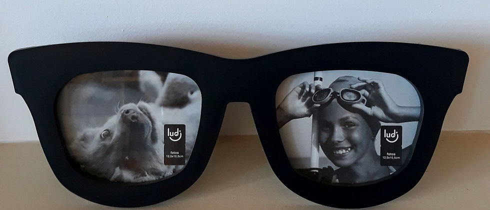Porta Retrato Duplo Óculos
