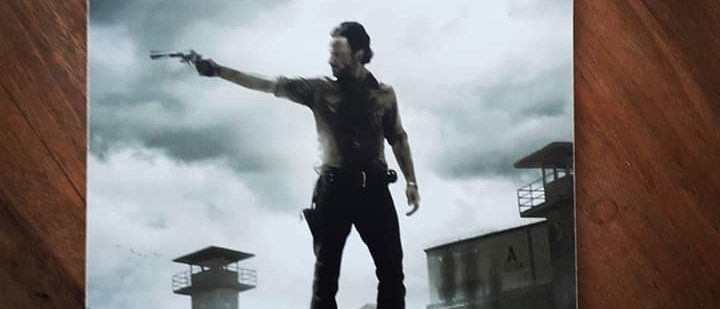 Placa The Walking Dead 8