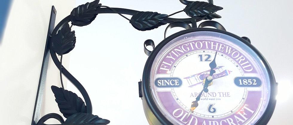 Relógio dupla face Estação