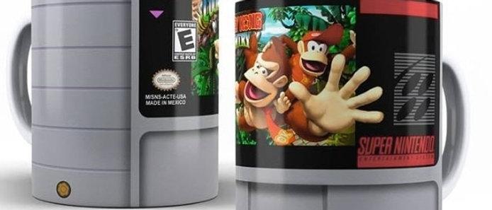 Caneca Cartucho Donkey Kong Nintendo