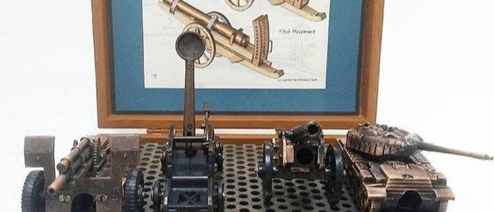 Miniaturas de Artilharia e Catapulta