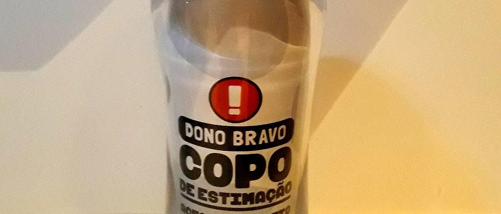 Copo para Viagem Cão Dono Bravo