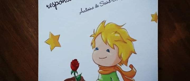 Placa Pequeno Príncipe