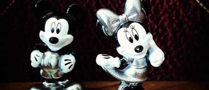 Nano Figs Mickey e Minnie Mouse