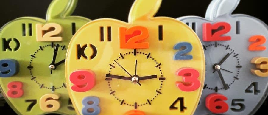 Relógio de Mesa Maça