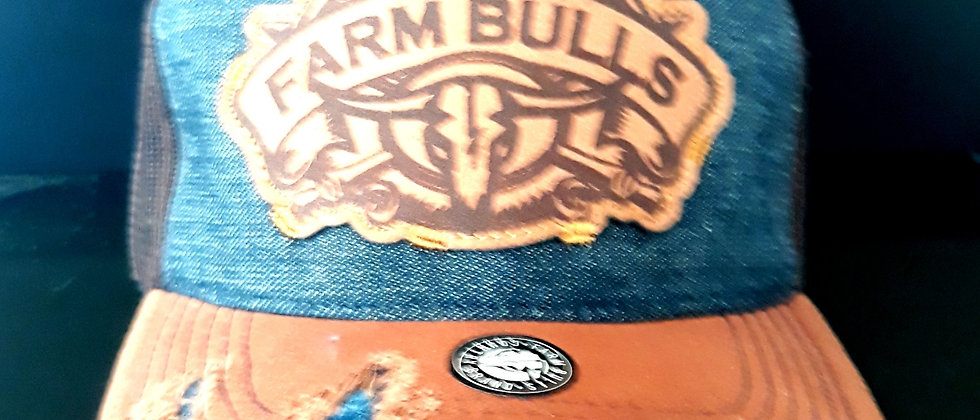 Boné Farm Bull Texas Country Cowboyk