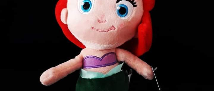 Pelúcia Princesa Ariel