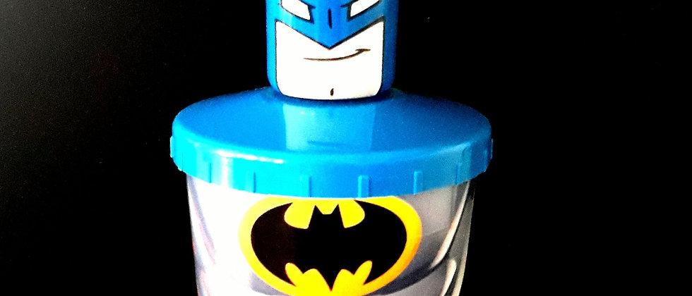 Copo infantil Batman com Canudo