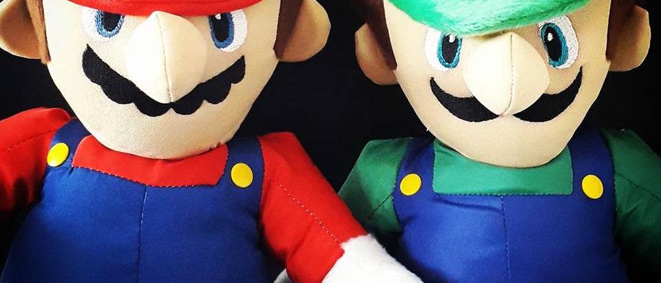 Luigi em pelúcia 50 cm