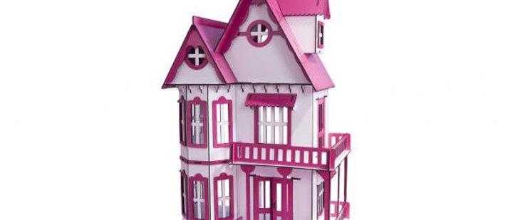 Casa de bonecas escala Polly