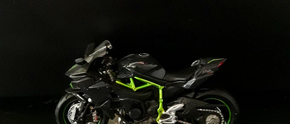 Miniatura de moto Kawasaki Ninja H2r