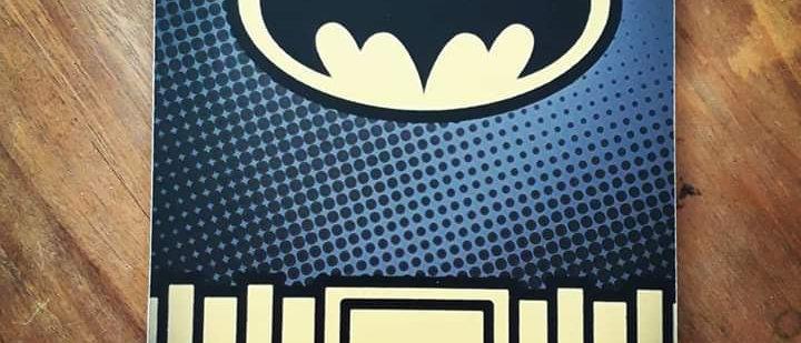 Placa Batman 1