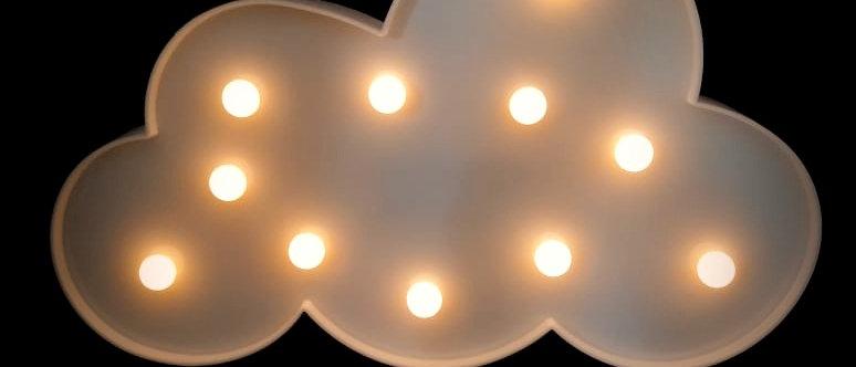 Luminária nuvem LED