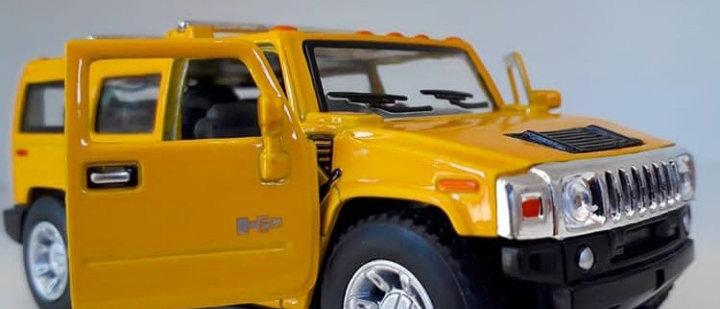 Miniatura Hummer H2 SUV