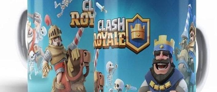 Caneca Clash Royale Personagens