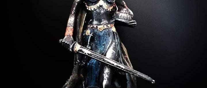 Deusa Freya Amor Fertilidade Beleza 26 Cm Nórdica Viking