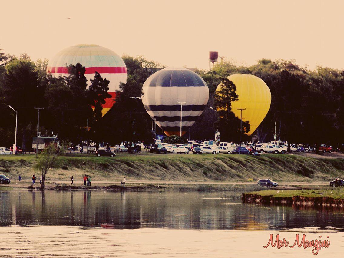 Globos aerostáticos en Baradero