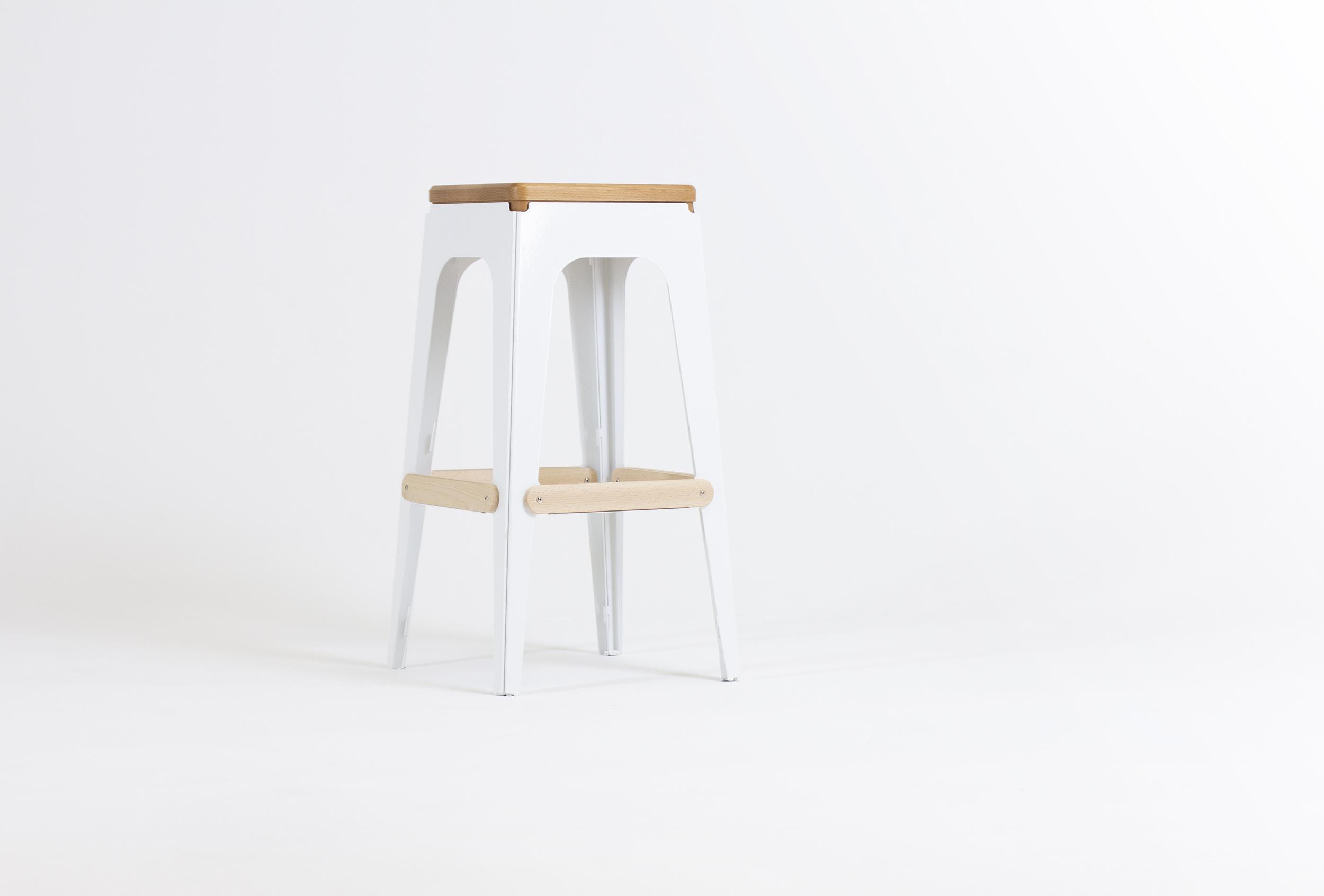 ULM bar stool by Figuron.