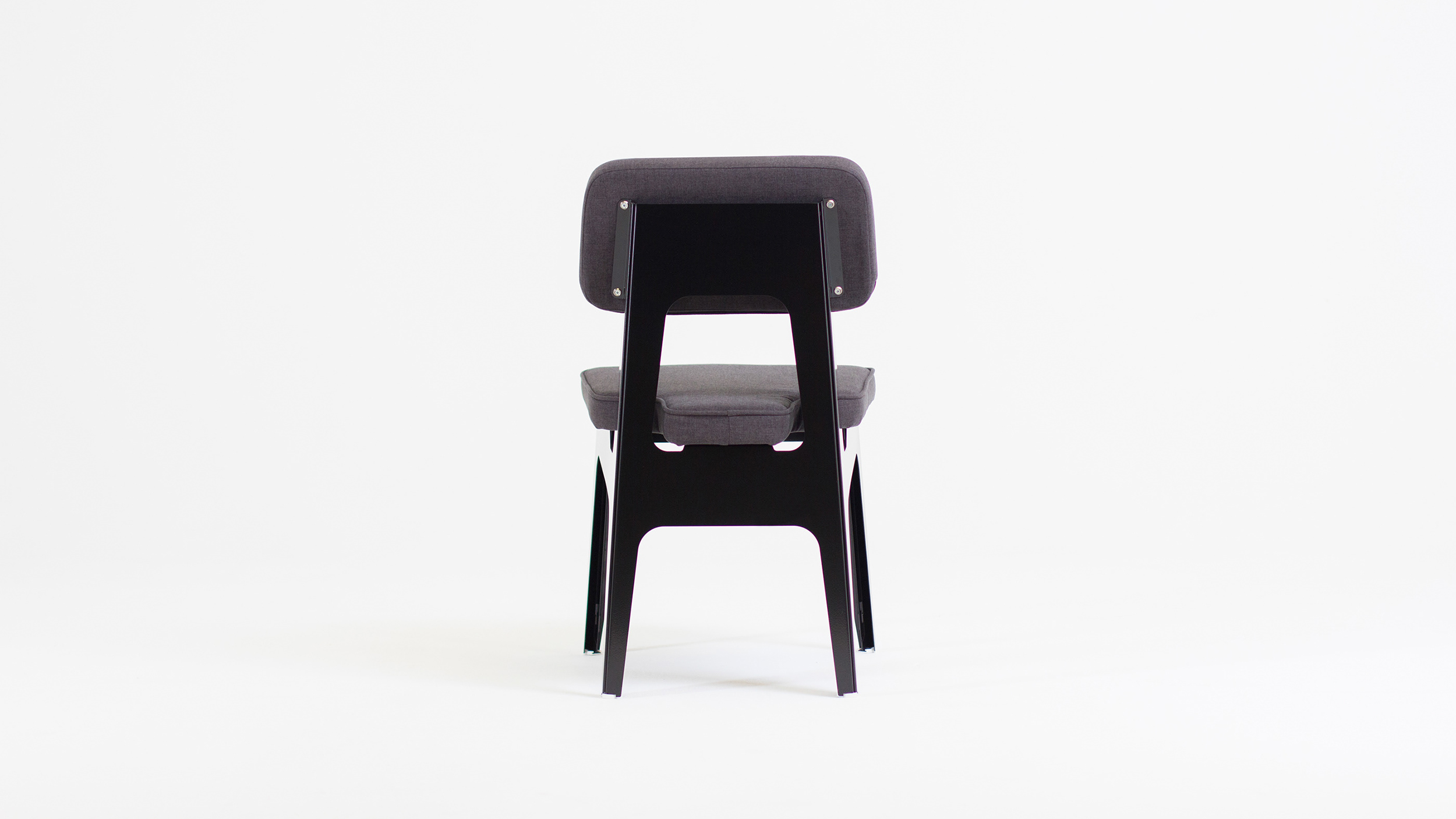 OULA Black Chair by Figuron.