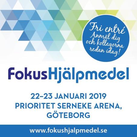 Fokus hjälpmedel i Göteborg, 22-23 januari
