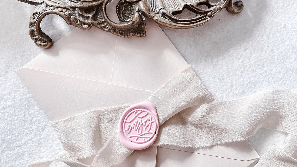 [ENJOY] -WAX SEAL STAMP COLLECTION