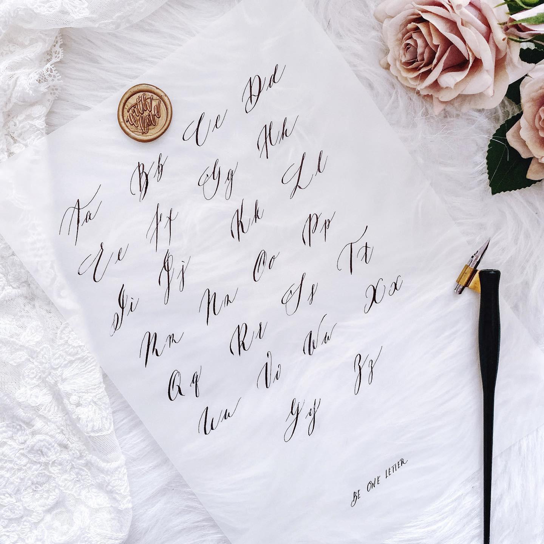 Advanced Class - Modern Calligraphy