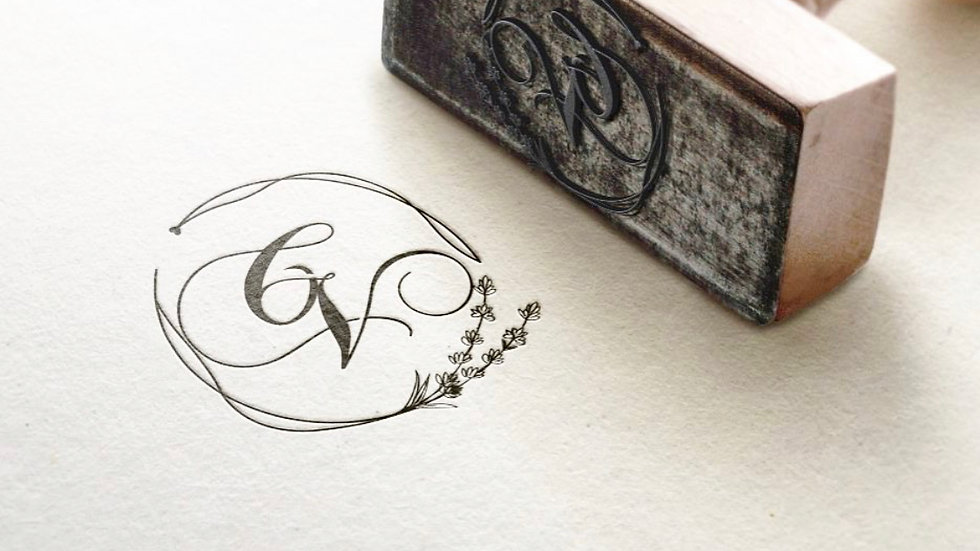 LOGO DESIGN / WEDDING LOGO DESIGN IN CALLIGRAPHY DESIGN