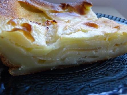 Gâteau fondant aux poires Morgane