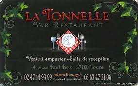 """restaurant paul bert """"La Tonnelle"""""""