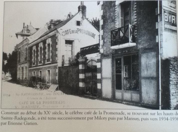 café promenade 1934 sainte radegonde