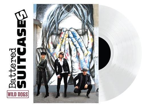 """Battered Suitcases - Wild Dogs 12"""" White Vinyl Record"""