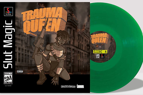 "Slut Magic - Trauma Queen 12"" Lime Green Record"
