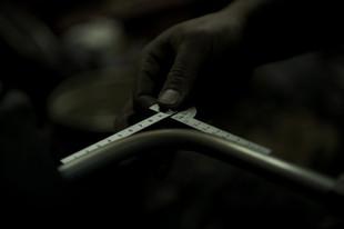 Size checking of Hand-bent Titanium